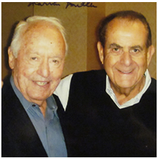 Dick Gordon with Marvin Miller