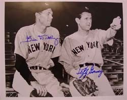 Bill Dickey and Lefty Gomez Autographed Photo