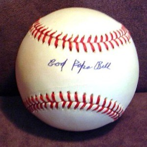 Cool Papa Bell Autographed Baseball
