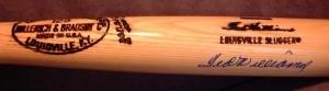 Ted Williams Autographed H&B Model Bat (D)
