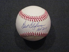 Bert Blyleven Autographed Baseball with HOF 2011 Inscription