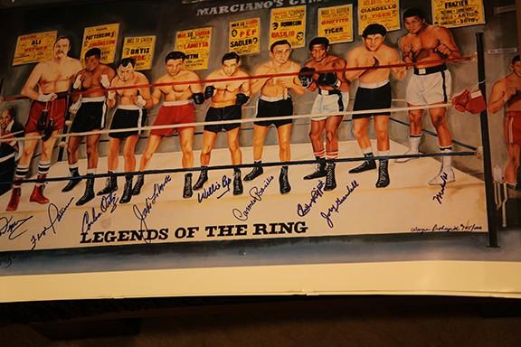 Muhammad Ali Legends Of The Ring Multiple Signatures