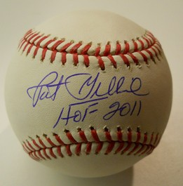 Pat Gillick Autographed Baseball HOF