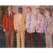 1974 Hall of Fame Class Autographed Photo