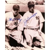 Joe DiMaggio and Bill Dickey Autographed Photo