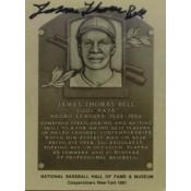 Cool Papa Bell Autographed Metallic HOF Card