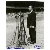 "A. B. ""Happy"" Chandler Autographed Photo"