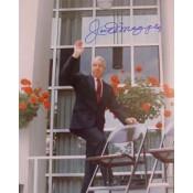 Joe DiMaggio Autographed Photo
