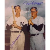 Joe and Dom DiMaggio Autographed Photo