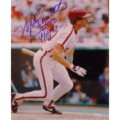 Mike Schmidt Autographed Photo Inscribed #500 4/18/87.