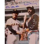 Sadaharu Oh and Eddie Murray Autographed Photo