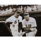 Joe DiMaggio and Ted Williams Autographed Photo