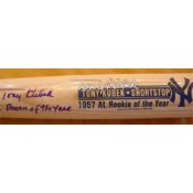 Tony Kubek Autographed Limited Edition Bat with 1957 AL Rookie of the Year Inscription