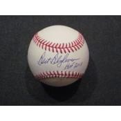 Bert Blyleven Autographed Baseball with HOF 2011 Inscription