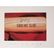 Carl Yastrzemski Autographed 3000 Hit Poster