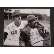 Carl Yastrzemski and Luis Tiant Autographed Photo