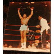 """16x20 Signed """"Rare Signature"""" of Muhammad Ali """"aka"""" Cassicus Clay before he became a Muslim   Comes with Letter of Authenticity"""
