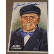 Jocko Conlan Autographed Perez-Steele Art Postcard