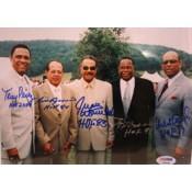 Latin Baseball Hall of Famers Autographed Photo (16 x 20)