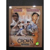 Two Triple Crown Autographed Poster (16 x 20)