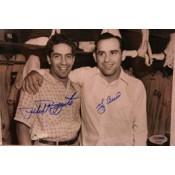 Yogi Berra and Phil Rizzuto Autographed Photo