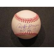 Roberto Alomar Autographed Baseball with HOF 2011 Inscription