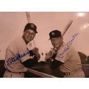 Stan Musial and Mickey Mantle Autographed Photo