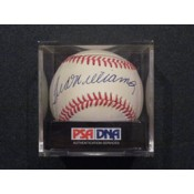 Ted Williams Autographed Baseball (D)