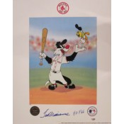 Ted Williams Looney Tunes Autograph