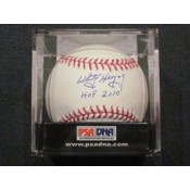 Whitey Herzog Autographed Baseball with HOF 2010 Inscription