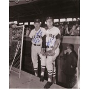 Carl Yastrzemski Dick Williams Autographed Photo