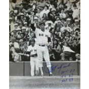 Carl Yastrzemski Tipping the Hat Photo Autographed